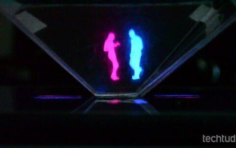 Veja o projetor caseiro de holograma 3D criativo e barato
