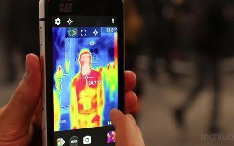 Conheça o CAT S60, celular com câmera termal