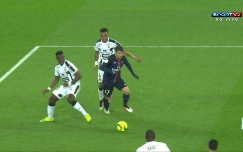PSG goleia o Rennes pelo Francês: 4 a 0