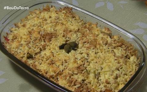 Veja receita de bacalhau com queijo Minas