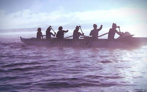 Canoa Havaiana exige trabalho em conjunto