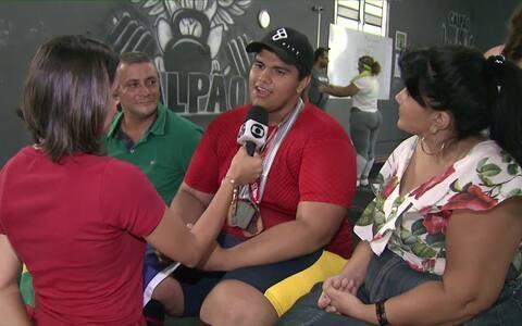 Globo Esporte bate um papo com Rodrigo Nazareno após conquistas no Mundial de Powerlifting