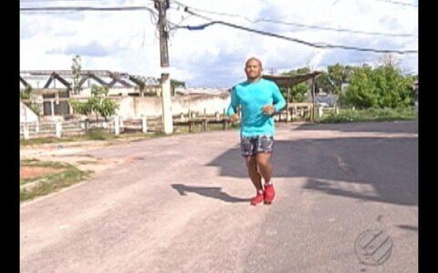Estudante paraense encontra qualidade de vida na prática de corrida de rua