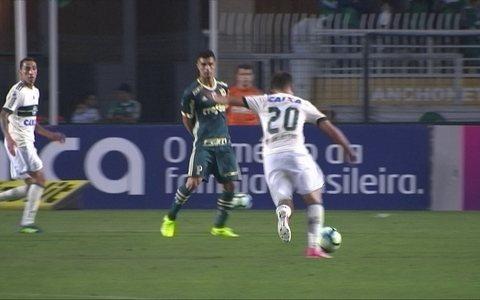 Palmeiras vence Coritiba  por 1 a 0 e empurra  adversário para o Z-4