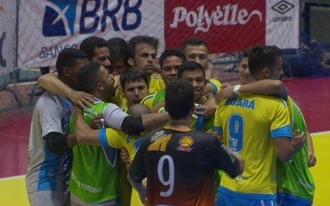 Definidos os finalistas da Copa Brasília de Futsal