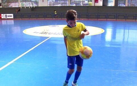 Final da Copa Brasília de Futsal inspira a criançada