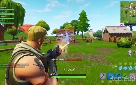 Fortnite - confira o gameplay do jogo