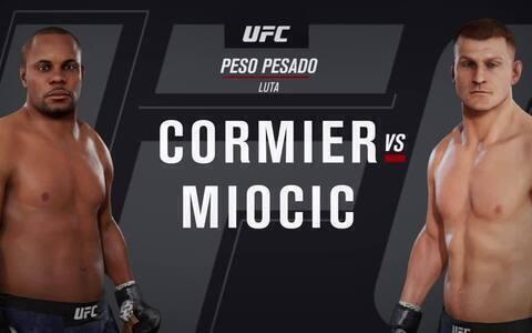 EA Sports UFC 3 - Simulação do UFC 241: Cormier X Miocic 2