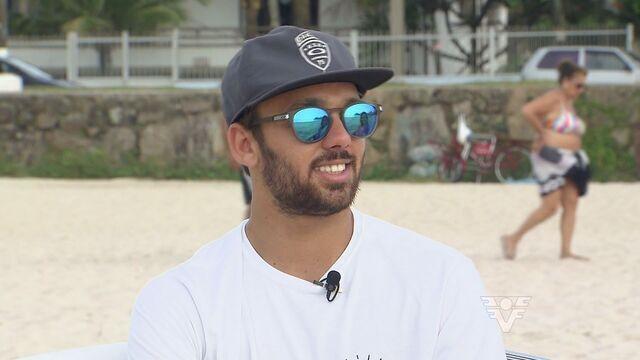 Conheça um pouco da história do  novo integrante brasileiro na WSL