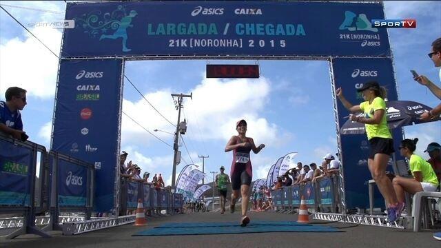 """""""Sofrendo no paraíso""""é o lema da corrida 21k de Fernando de Noronha"""