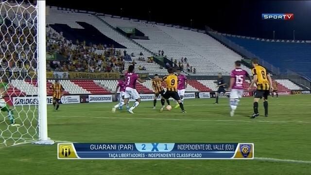 Guarani-PAR perde pênalti no fim, e Del Valle vai para grupo do Atlético-MG