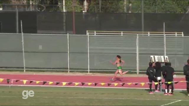 Franciela Krasucki consegue índice  olímpico dos 100m nos EUA