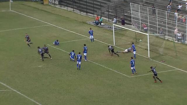 Veja o gol da segunda vitória centralina na Série D