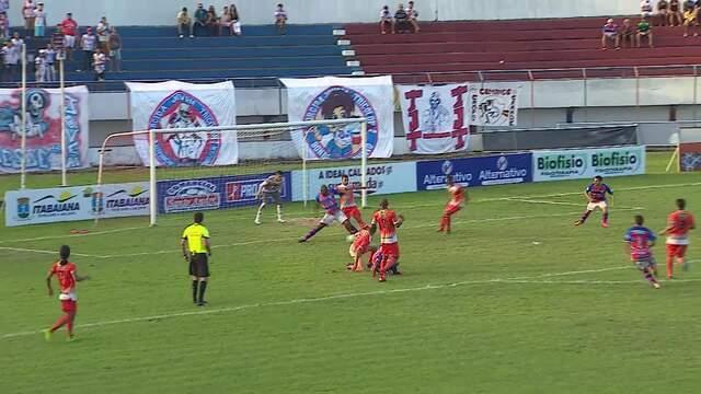 Confira os gols da partida realizada em Sergipe