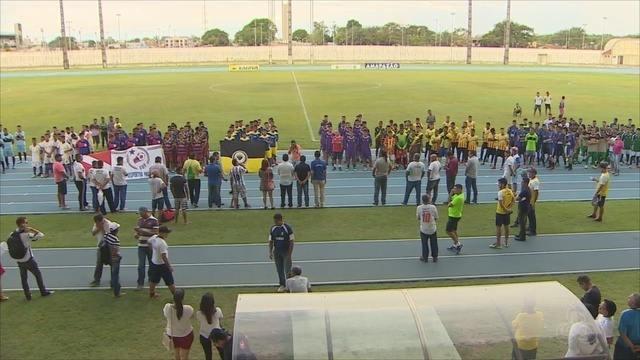 Com Remo e Desportiva, foi realizada a abertura oficial da Copa Amazônia Sub-17 de Futebol