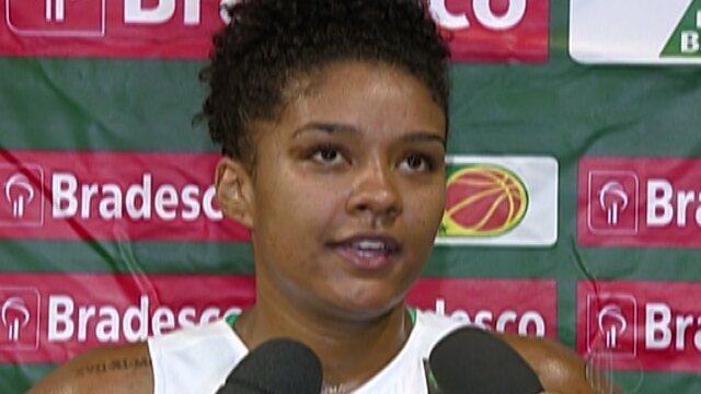 Ferrazense, Damiris Dantas se destaca  em vitória da seleção feminina