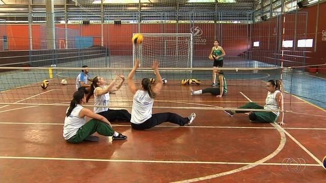 Estado de Goiás reforça seleção  de vôlei sentado na Paralimpíada