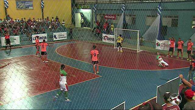 Veja como foi a abertura da Copa TV Asa Branca de Futsal