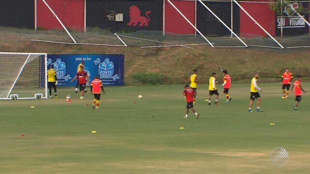 Após derrota para o Cruzeiro, Vitória se prepara  para enfrentar o Fluminense no Maracanã