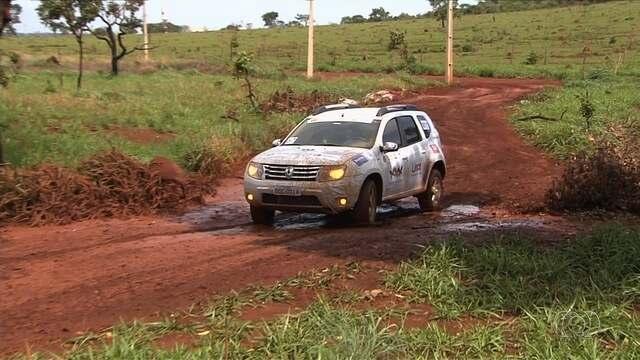 Rally Eco Goiás chega ao fim  com etapa agitada em Goiânia