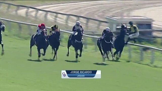 J. Ricardo cai do cavalo em prova na  Argentina e sofre fratura do fêmur