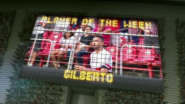 BLOG: Gilberto is our Player of the Week!