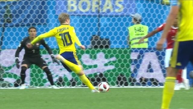 Melhores momentos: Suécia 1 x 0 Suíça pelas oitavas da Copa do Mundo 2018