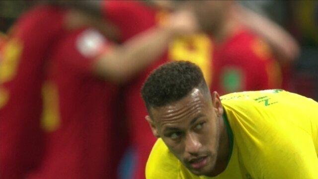 Os gols de Brasil 1 x 2 Bélgica pelas quartas da Copa do Mundo 2018