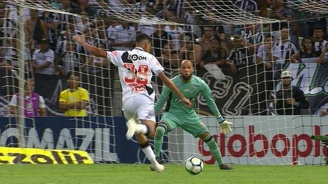 5250a004e8 Melhores momentos  Ceará 0 x 0 Vasco pela 38ª rodada do Campeonato  Brasileiro