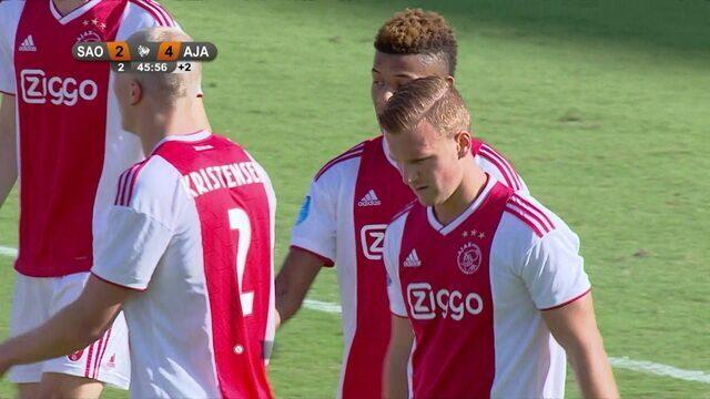 Os gols de São Paulo 2 x 4 Ajax pelo Torneio de Flórida