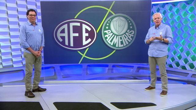 Milton Leite e Casagrande analisam empate entre Ferroviária e Palmeiras