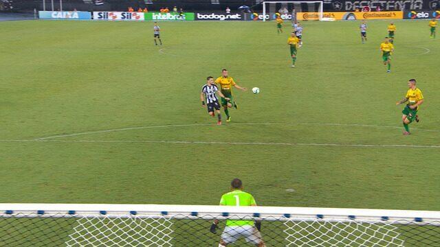 8b35d78326647 Botafogo 3 x 0 Cuiabá - Copa do Brasil 2019 Segunda fase - Tempo ...