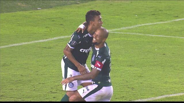 Gol do Palmeiras! Em contra-ataque perfeito, Borja toca e Marcos Rocha aumenta a vantagem aos 47 do 2º tempo