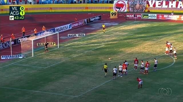 Os gols de Vila Nova 1 x 1 pela semifinal do Campeonato Goiano