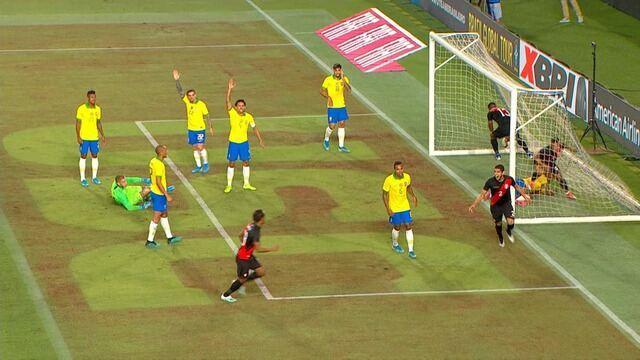 Melhores momentos de Brasil 0 x 1 Peru pelo Amistoso Internacional