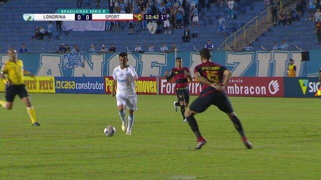 Melhores momentos: Londrina 1 x 2 Sport pela 24ª rodada da Série B do Brasileiro