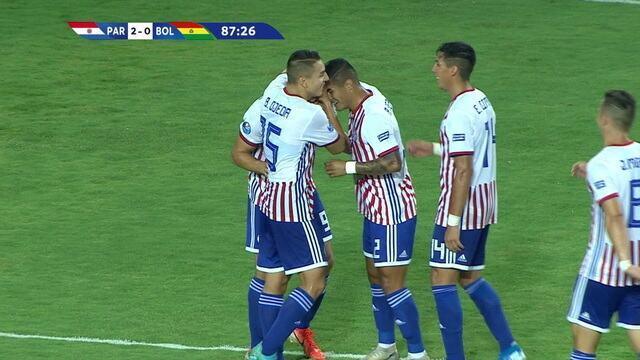 Os gols de Paraguai 2 x 0 Bolívia pelo Pré-olímpico de futebol sub-23