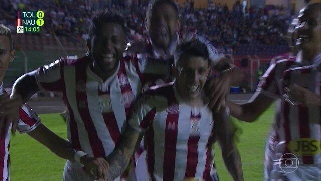 Melhores momentos de Náutico 0 x 2 Toledo, pela 1ª fase da Copa do Brasil
