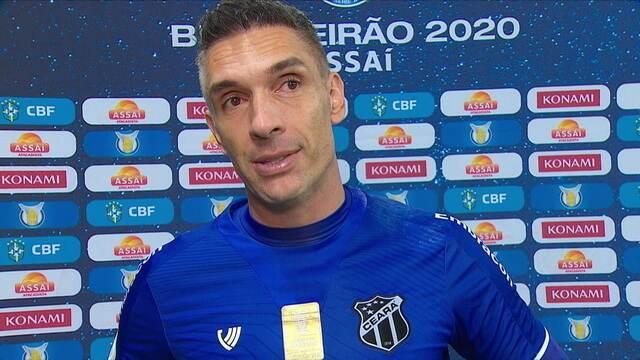 Fernando Prass fala sobre reencontro com o Palmeiras e acredita em infelicidade nos gols