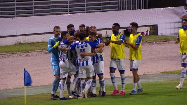 Melhores momentos: CSA 4 x 0 Paraná, pela 15ª rodada do Brasileirão Série B