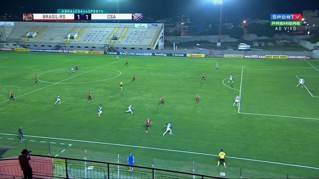 Confira os melhores momentos do empate entre Brasil de Pelotas 1 x 1 CSA