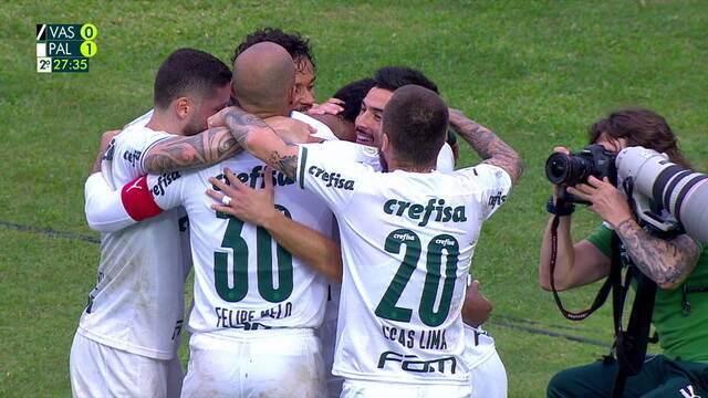 Melhores momentos: Vasco 0 x 1 Palmeiras, pela 20ª rodada do Brasileirão