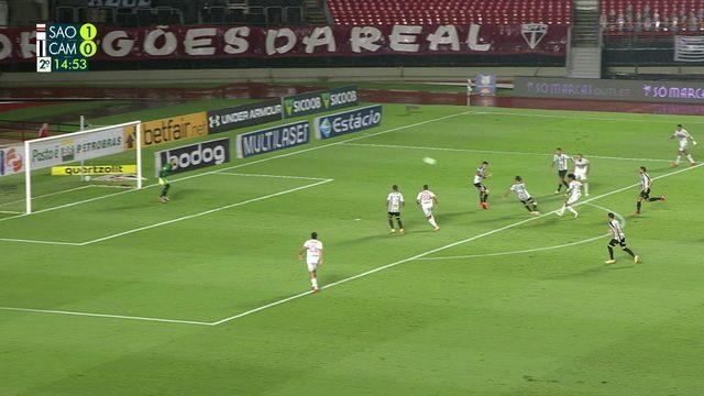 Melhores momentos: São Paulo 3 x 0 Atlético-MG, pela 26ª rodada do Brasileirão
