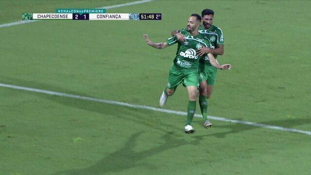 Os gols de Chapecoense 3 x 1 Confiança, pela 38ª rodada do Brasileirão Série B