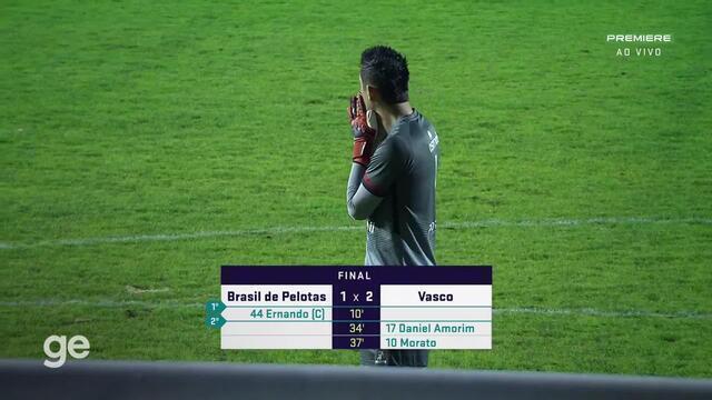 Melhores momentos de Brasil-Pel 1 x 2 Vasco - 3ª rodada da Série B do Brasileirão 2021