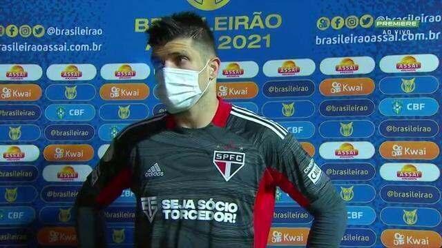 """Volpi nega """"ressaca"""" do Paulista e afirma: """"Agora é seguir falando menos"""""""