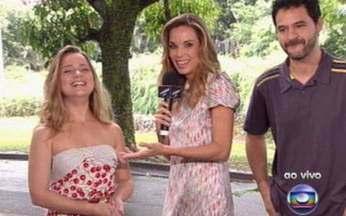 Tatyanne Goulart e Bruno Garcia falam sobre Cinquentinha - Atores estão na minissérie, que estreia nesta terça-feira, 8.