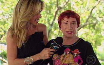 Ana Furtado entrevista Berta Loran - Atriz está dando mais um show como a Loló de Cama de Gato