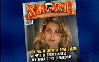 Os casos que renderiam capa na revista 'Sarjeta' de 'A Vida Alheia' - Veja os escândalos da ficção que poderiam estampar capas de revista.