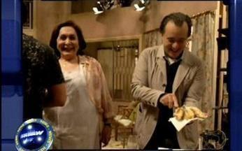 Vídeo Show News: Tony Ramos ganha festa surpresa nos bastidores de Passione - Quem é notícia tem lugar garantido no quadro do Vídeo Show